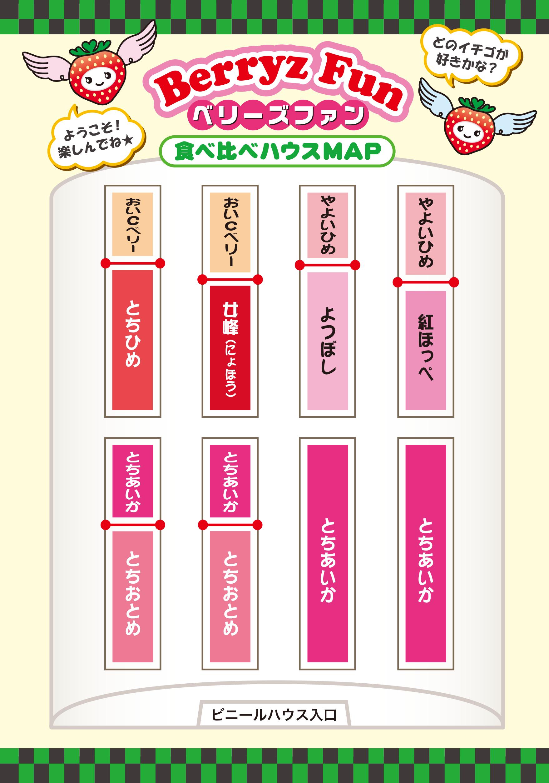 ハウス内マップ